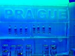 Frozen vodka