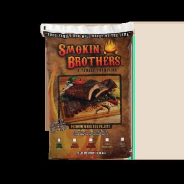 Bag of Smokin Brother's Pellets.