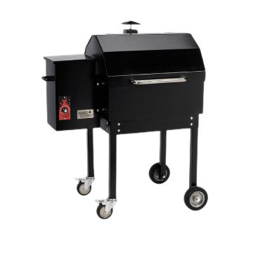 Black Smokin Brothers grill in model Traditional 24.
