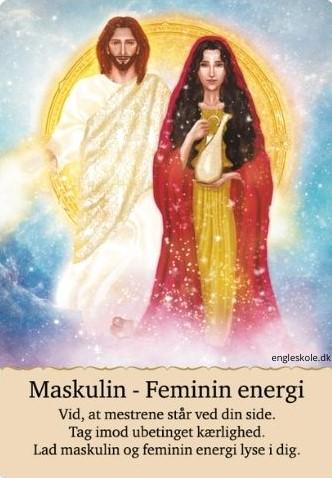 Maskulin - feminin energi