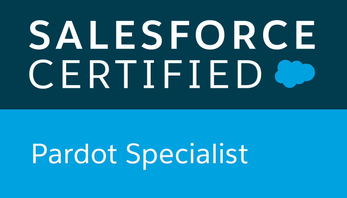 Salesforce Certified Pardot Specialists