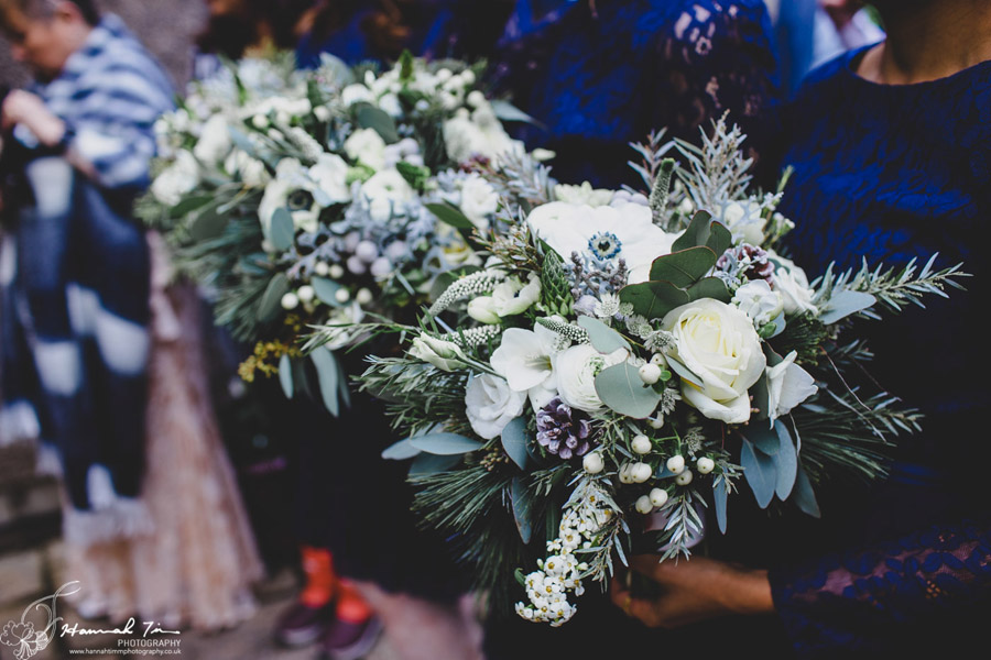 Jenny & Chris's winter wedding at Fairyhill, with Hannah Timm Photography (11)