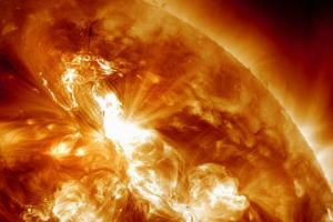 Scientists have found a source of solar energy particles for the first time