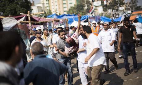Pro-Morsi clashes