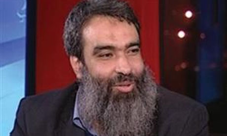 Member of Salafist Al-Nour Party Bassam El-Zarqa (Photo: Al-Ahram)