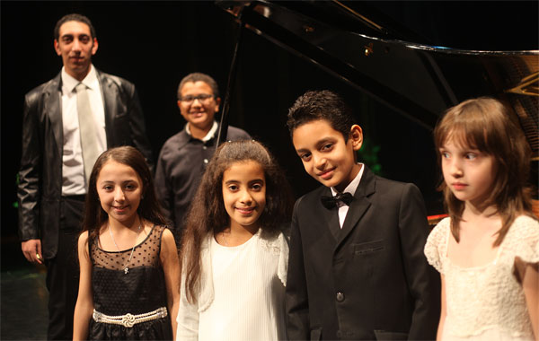 Piano competition Egypt
