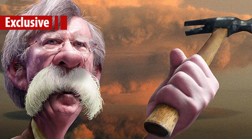 John Bolton: The Cartoonish Hawk