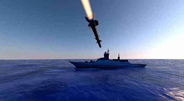 Saudi-led warship