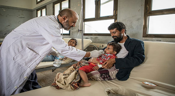 Yemen Cholera Outbreak [Photos]