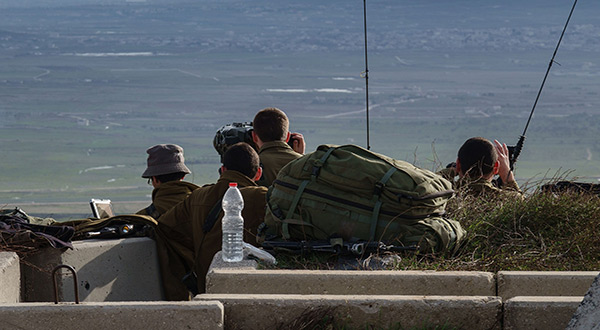 «Israeli» Army on High Alert in Golan Heights as Syria Intensifies Op in Daraa
