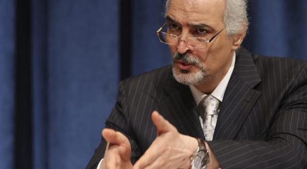 Syria's UN envoy Bashar al-Jaafari