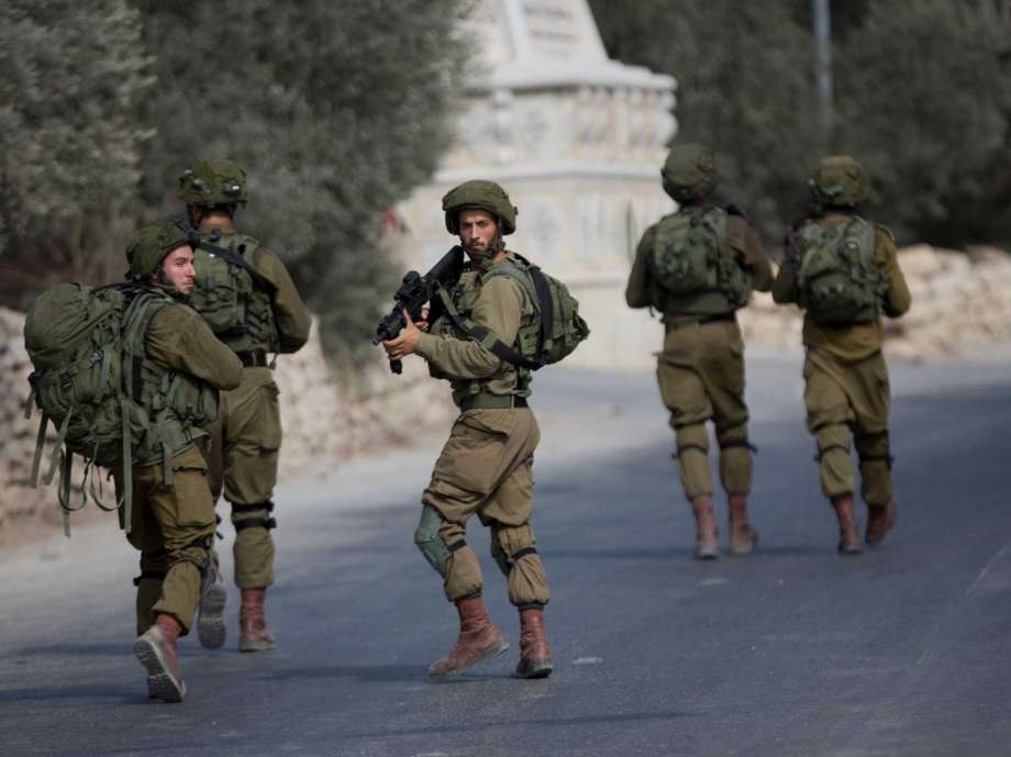 Israeli occupation soldiers
