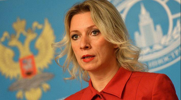 Russia Foreign Ministry spokeswoman Maria Zakharova