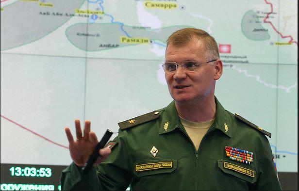 Russian military spokesman Igor Konashenkov