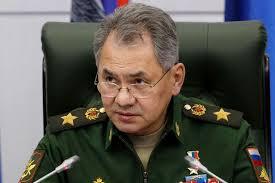 Russia Defense Minister Sergei Shoigu