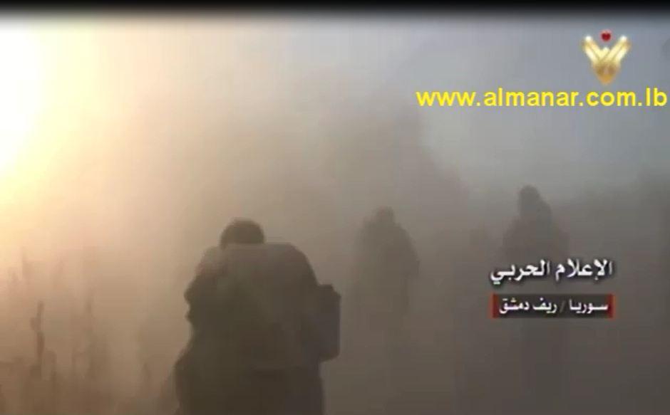 Syrian army in Eastern Gouta