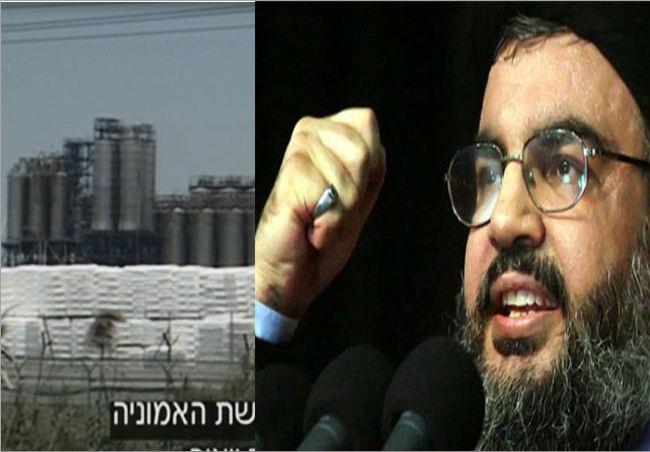 Hezbollah versus Zionist Ammonia