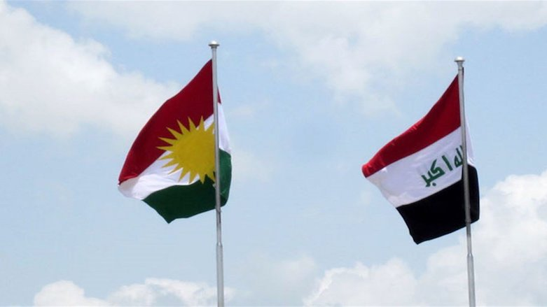 Iraq Kurdistan flags