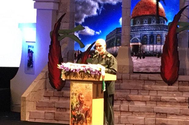 Suleimani Mughniyeh ceremony