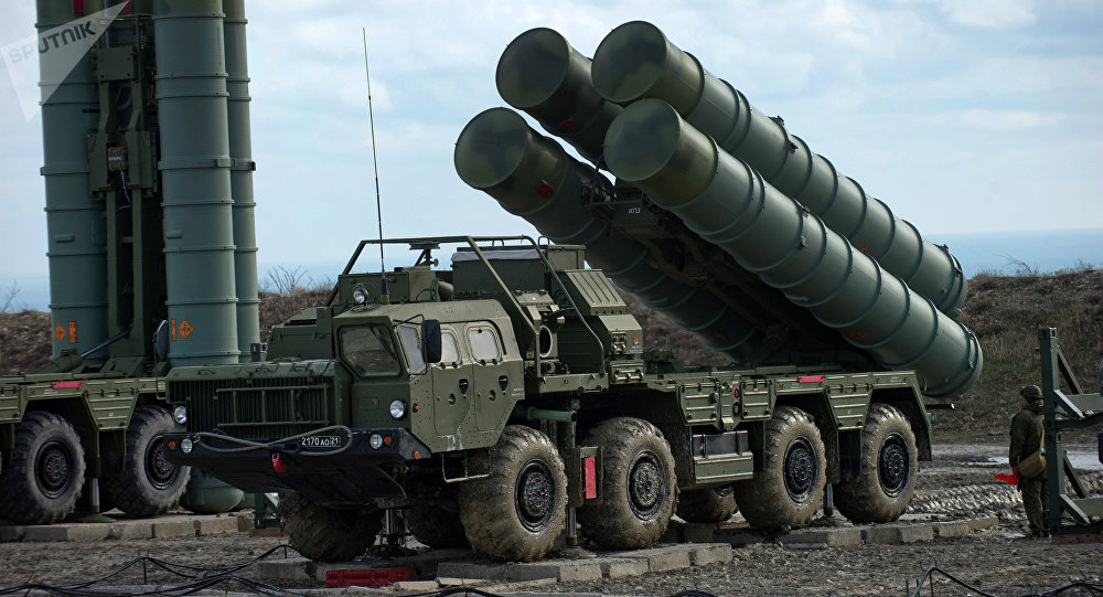 S-400 air defense systems