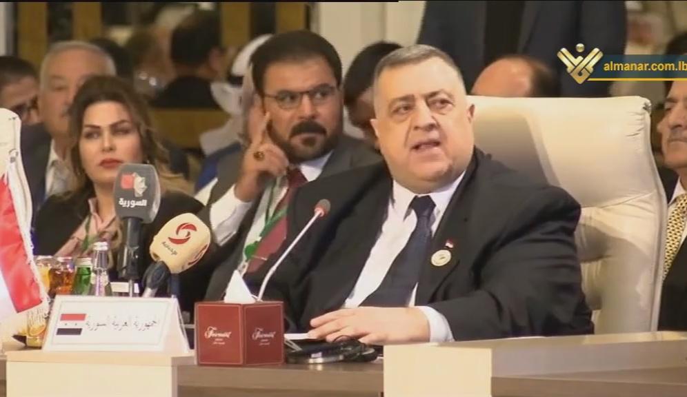 Syrian Speaker Hammoudeh Sabbagh