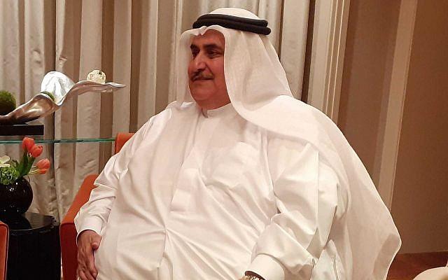 Bahrain FM Khalid bin Ahmed Al Khalifa