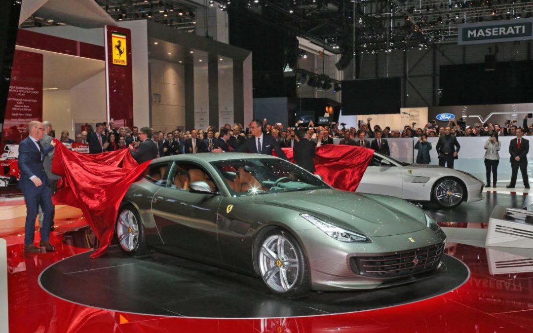 The Ferrari GTC4Lusso debut