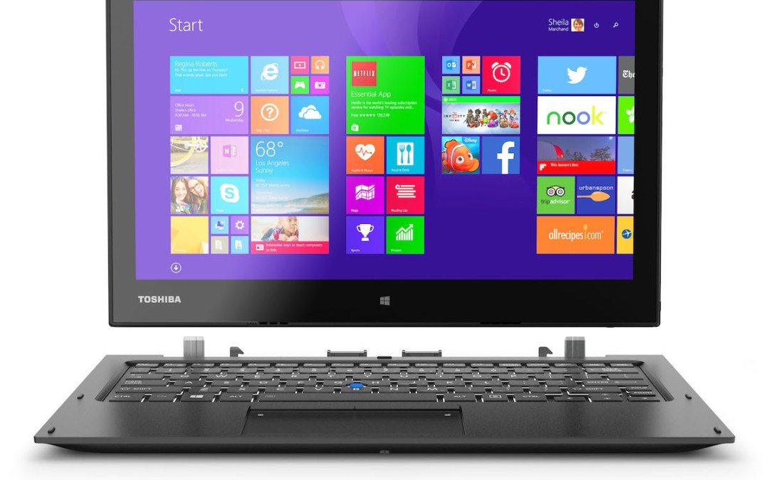 Toshiba launches new 'built for business' laptops