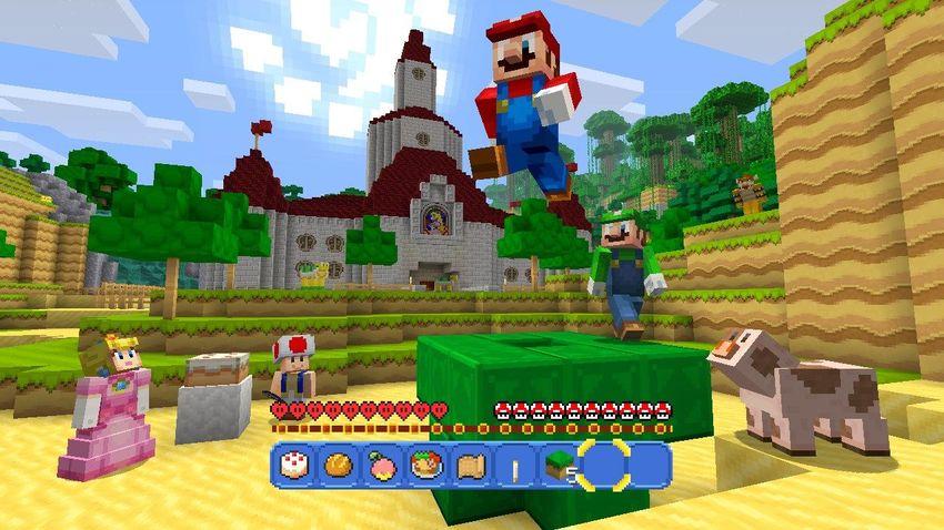 15 screenshots from Super Mario's debut in 'Minecraft'
