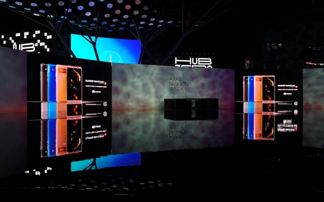 Arab Fashion Week 5th Edition Combines Innovative Fashion and Intelligent Technology with Huawei AI-Powered Mate 10 Photography