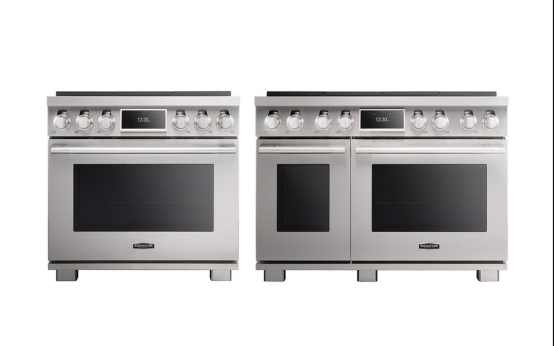 Signature Kitchen Suite Pro Range Oven and LG CineBeam Laser 4K  Recognized for Industry-Leading Designs