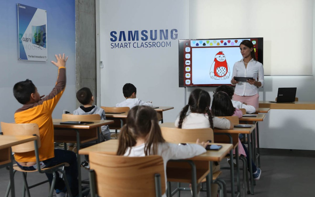 Samsung Partners with the Lebanese Autism Society to Install a Smart Classroom for Children with Autism in Lebanon