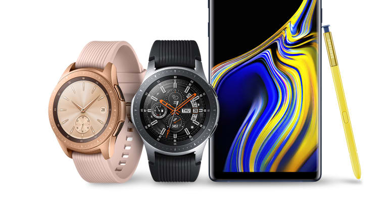 No Matter Where Your Day Takes You Stay Connected With The New Samsung Galaxy SmartWatch