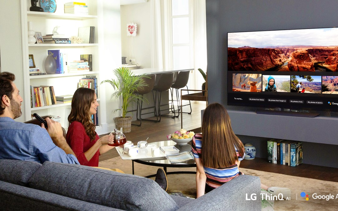 LG TV customers will be able to use the Google Assistant on their 2018 TVs with AI ThinQ