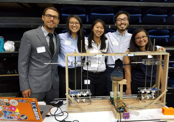 The Arduino-Powered Shoe-Tying Robot