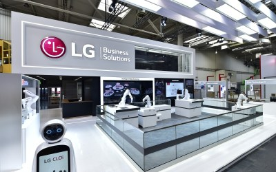 LG BRINGS INTELLIGENT MANUFACTURING  SOLUTIONS TO HANNOVER MESSE 2019