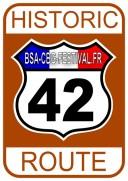 ROUTE 42 - STICKER - OK Small