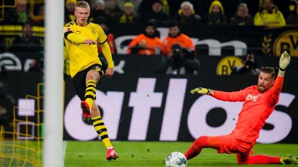 Erling Haaland scores a brace as Dortmund thump Cologne 5-1