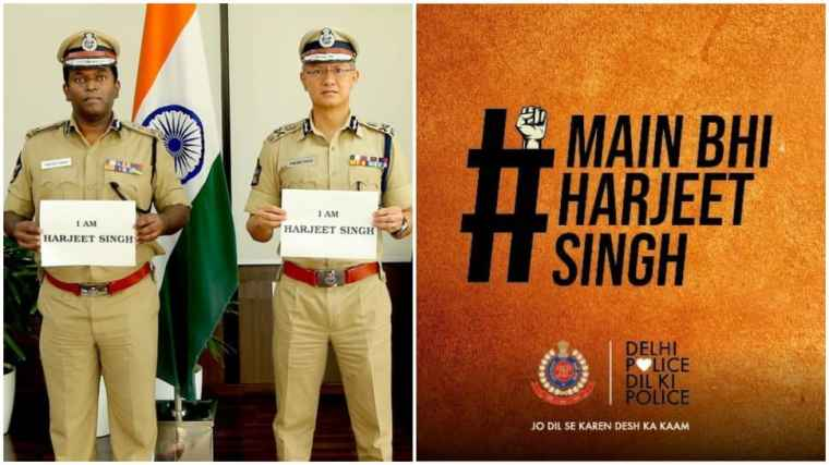 Andhra, Delhi police come in solidarity with Punjab police SI Harjeet Singh, whose hand was chopped off