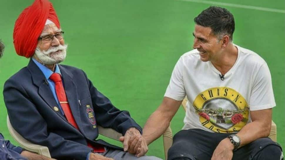 Akshay Kumar mourns dying of hockey legend Balbir Singh Senior