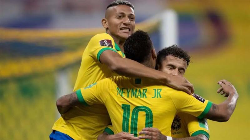 FIFA World Cup Qualifiers: Roberto Firmino's brace helps Brazil crush Bolivia 5-0