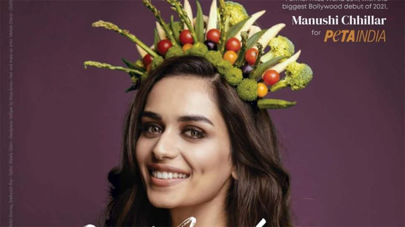 I encourage everyone to try being a vegetarian: Miss World 2017 Manushi Chhillar on Earth Day