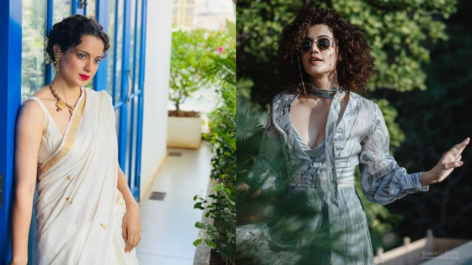 Kangana Ranaut defends herself over calling Taapsee Pannu 'she-man', says she's got 'tough looks'!