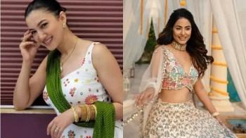 Eid-ul-Fitr 2021: Hina Khan, Gauahar Khan and Neha Kakkar's trendy Eid outfits are super stylish and desi – See pics and get impressed!