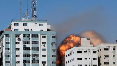Israel destroys 12-story Gaza tower housing Associated Press and Al Jazeera offices