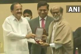 Rajinikanth conferred with Dadasaheb Phalke Award at 67th National Film Awards ceremony