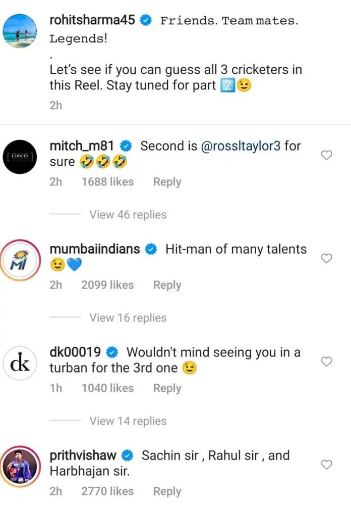Rohit Sharma Instagram