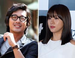 Ha Jung-woo (left) and Ha Ji-won