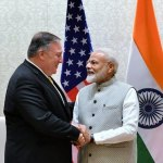 "Pompeo hails Modi's ""wonderful"" re-election"