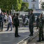 Double suicide blasts wound nine in Tunisia capital